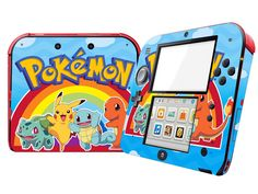 >> Click to Buy << Vinyl Skin Sticker Protector for Nintendo 2DS Skins Stickers Pokemon Design Print #Affiliate