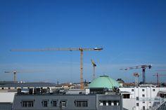 Montag, 20.04., 11:40 Uhr – Mitte, Jägerstraße: Diese Stadt ist tatsächlich eine einzige Baustelle. © Jörg Fockenberg