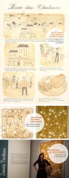 Illustration - Janice Nadeau - Blog #french