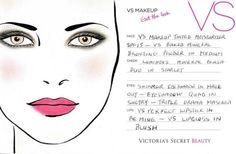 Victoria Secret makeup card