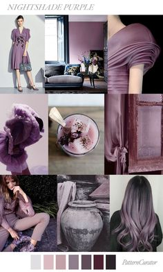 Pattern Curator delivers color, print and pattern trends and inspiration. Colour Pallete, Color Combinations, Fashion Colours, Colorful Fashion, Mode Inspiration, Color Inspiration, Color Balance, All Things Purple, Color Stories