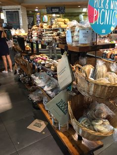 Wholefoods - Piccadilly - London - Grocery - Healthy Living - Layout - Landscape - Retail Design - VM - www.clearretailgroup.eu Pick And Mix, Retail Design, Whole Food Recipes, Sushi, Picnic, Healthy Living, Stuffed Mushrooms, Layout, London