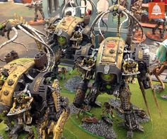 Fallen Knights, Hacked by necrons...now where's the looted ork version?
