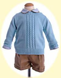 Littleboy's suit and jumper