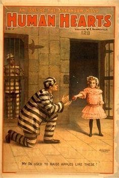 Vintage Theatre Poster #creepy #vintage #ad