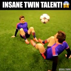 Two heads are better than one  Credit: SkillTwins
