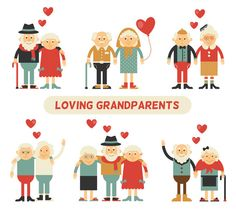Grandparents in Love by Riots Brush on @creativemarket