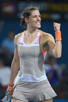 Andrea Petkovic at the 2014 Brisbane International