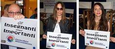 Lecce - Carlo Verdone, Maria Sole Tognazzi, Ilenia Pastorelli sostengono studenti del Galilei-Costa