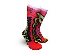 Cap/'n Crunch Wrapper Adult Novelty Ankle Socks