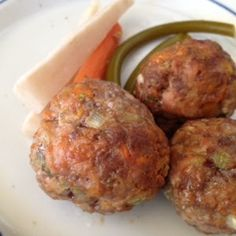 Heal me in the kitchen: Sweet Potato Molasses Meatballs Ground Beef Recipes, Pork Recipes, Paleo Recipes, Cooking Recipes, Nightshade Free Recipes, Fast Metabolism Diet, Autoimmune Paleo, Food Allergies, Bite Size