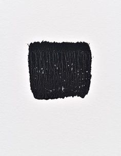 Niele Toroni Imprints of paintbrush no. 50 repeated at regular intervals of 30 cm 2015