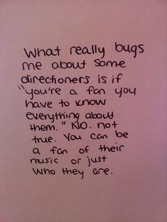 yes yes, a million times yes. you don't have to know EVERYTHING about One Direction to be a fan. If you want to, like myself :), you can, but you don't have to. And you shouldn't get hate if you don't. You just have to love ALL of them!