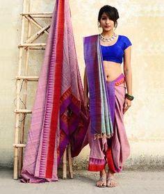 Cotton Silk Ikat Saree