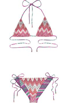 I Really Really Want A Missoni Bathing Suit For Christmas