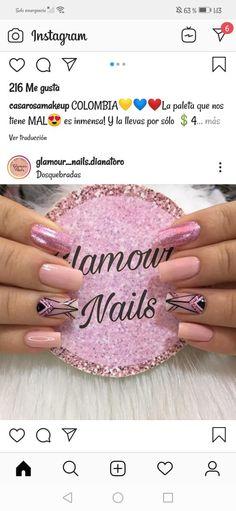 Geometric Nail, Trendy Nails, Nail Arts, Pink Nails, Pedicure, Make Up, Engagement Rings, Jewelry, Art Nails