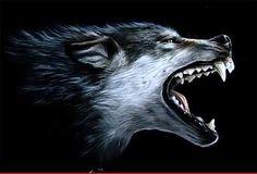 Картинки по запросу волк пасть рисунок