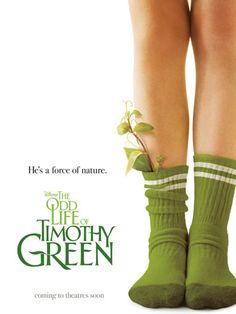 ¤ La drôle de vie de Timothy Green - Lorsque le jeune Timothy fait son entrée dans la vie de Cindy et Jim Green, il est la réponse au plus grand rêve du couple, mais ils ne savent pas encore que la magie qu'il apporte avec lui va changer la façon dont eux-mêmes – et tous ceux qui les entourent – considèrent l'amour.