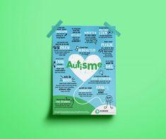 KOEKIE Autisme Poster verkrijgbaar in (poster) en (uitdeelkaarten)! Life Skills, Special Education, Coaching, Poster, Games, A3, School, Tips, Psychology