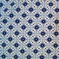 """Viskosejersey  """"Florasie"""" von Hilco in blau // MYO STOFFE Online Shop für Patchworkstoffe, elastische Stoffe & mehr!"""