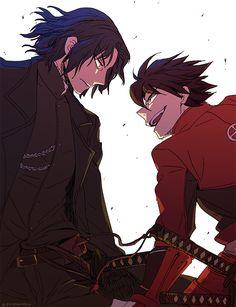 Drifters #Anime #Manga Toyohisa Shimazu and Hijikata Toshizou