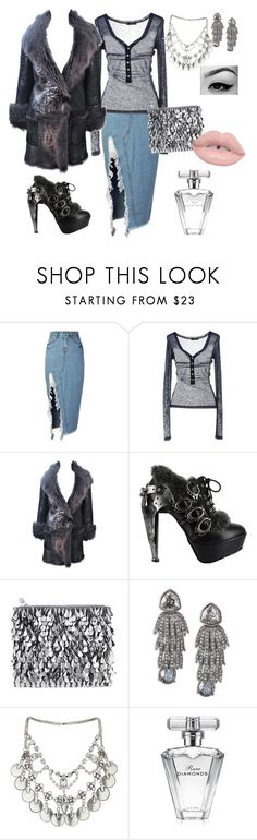 """Dark Winter???"" by gigiglow ❤ liked on Polyvore featuring storets, Dsquared2, HUGO, HADES, Forest of Chintz, Oscar de la Renta, Miss Selfridge and Avon"