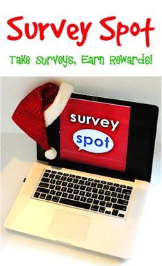 Survey Spot: Take Surveys for Money and Earn Rewards!!