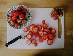 loseyourpride:    strawberries in june by Bookshop Folk on Flickr.