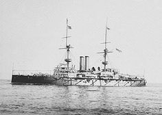 """HMS Ramillies 1892, was a pre-dreadnought battleship of Royal Navy and part of the seven ship Royal Sovereign class. She was 380 feet (120 m) long with a beam of 75 feet (23 m) and a draught of 27' 6"""". She produced 13,000 horsepower (9,700 kW) and could make 17.5 knots (32.4 km/h). The class was faster and better armoured than their predecessors and carried a potent secondary armament but these features inevitably increased their weight:Ramillies displaced 14,150 tons whereas previous…"""