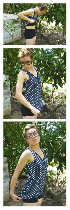 Roupa pra curtir o verão! Regata + Short  #swimsuit #roupaprabanho #slowfashion