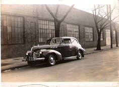 1940 Pontiac  Photo taken in Newark, NJ Jan. 1950