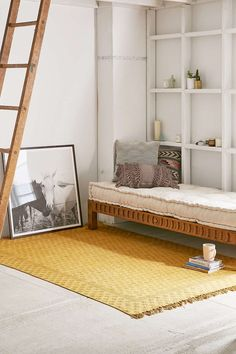 Heidi Overdyed Block Print Rug $259 Urban outfitters