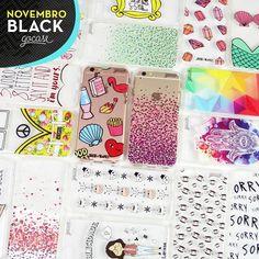Tá rolando NOVEMBRO BLACK!  Na compra de 2 Gocases você ganha 50% OFF na compra da 3ª case. Agora é corre pro site em? [NÃO ESQUEÇA DE COLOCAR A 3ª GOCASE NO CARRINHO] #gocasebr #instagood #iphonecase #phonecase #black #allblack #novblack #gocaseblack #amogocase
