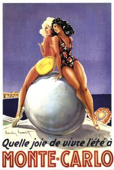 Vintage Art Posters-love