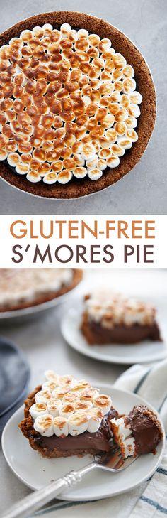 S'mores Pie (Gluten-Free + VIDEO) - Lexi's Clean Kitchen