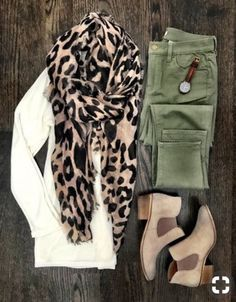 I have all of the items needed for this outfit except for a long-enough white sweater. Must find one!