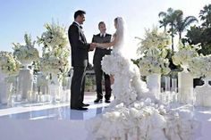 Televised Celebrity Wedding for Reality Television Chris was...