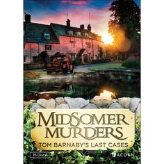 Midsomer Murders: Tom Barnaby's Last Cases The cozy villages of Midsomer County reveal their most sinister secrets in these contemporary British television Mystery Show, Mystery Series, Mystery Books, Detective Series, Murder Mysteries, Cozy Mysteries, John Nettles, Midsomer Murders, Bbc Drama