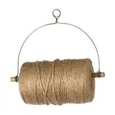 you can make this  - Jute Twine Dispenser great for ribbons,to