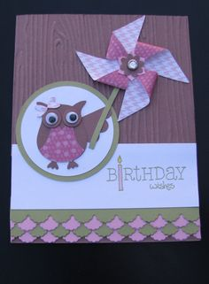 Stampin' up Handmade Birthday Card on Etsy, $4.00