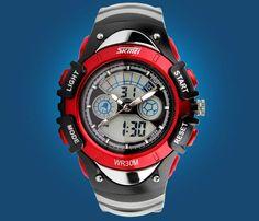 Children's Watches LED Digital Quartz