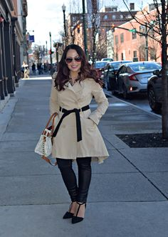 Spring trench coats