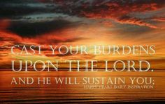 ..He will never suffer the righteous to be moved...