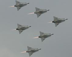 Saab 35 Drakens
