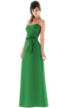 Elegant Sweetheart A-line Floor-length Bridesmaid Dresses,Natural Bridesmaid Dresses,Bridesmaid Dresses