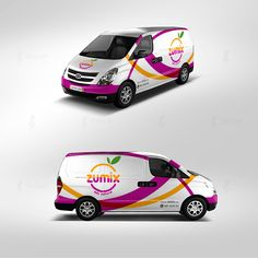 Zumix Cremoladas / Branding / Logotipo / Identidad on Behance