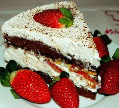 Crostata de ciocolatto & fragola