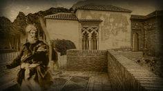 La Alcazaba de Málaga se viste de ocre para recibir a su rey Yusuf I