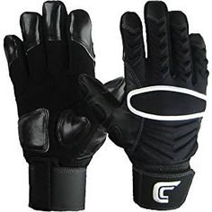 cheaper 1f0a2 a7086 Cutters The Reinforcer Football Gloves (Black, XXX-Large) Football Gloves,  Nfl