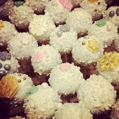 """cake ballers custom cake pops. Winters chilly but it doesn't mean that staying cool with cake pops isn't the hot thing to do....go on, have a sweet bite of """"cool""""! www.cakeballers.com #thecakeballers #cakeballers #cakeballer #cakepops #winter #shimmer #coolesttreat #hottestgoodies #eatmorecakeballs #208ballers #thisisboise #idaho #weballcake #sparkle #allthecoolkidsaredoingit #tastethesweet"""